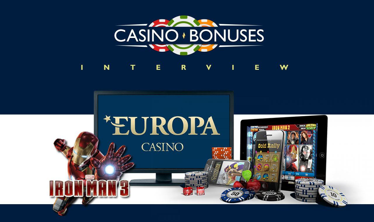 europa casino bonus terms
