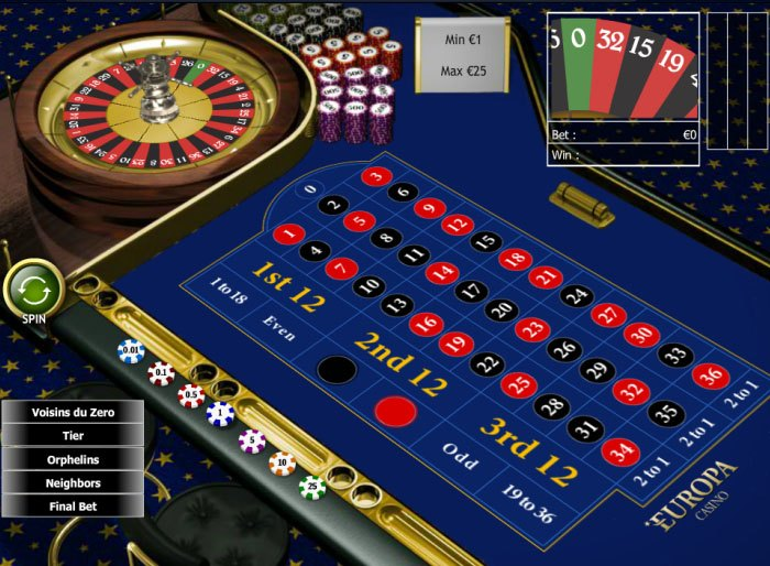 Play 3D Roulette Online at Casino.com Australia