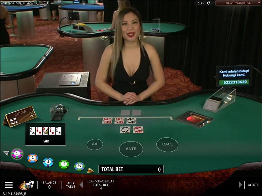 Play Casino Hold'em Online at Casino.com Australia