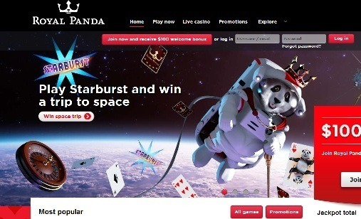 royal panda casino phone number