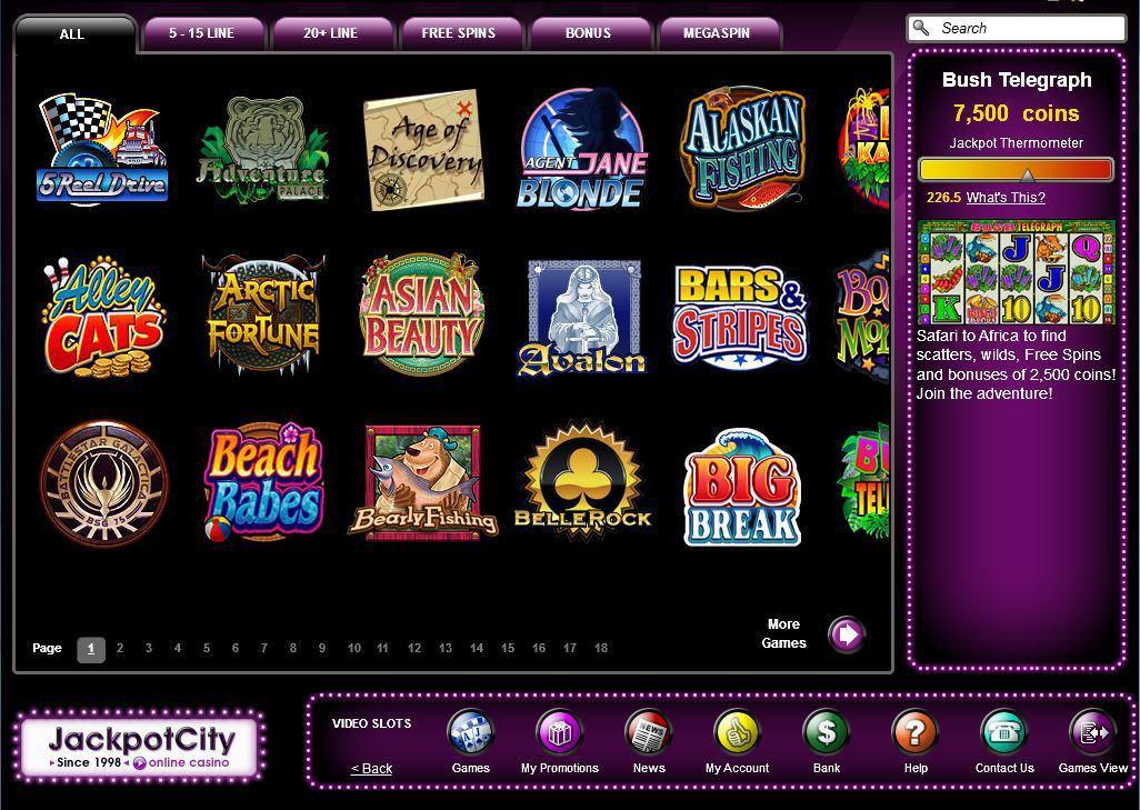 Jackpot City Au
